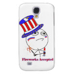 Fireworks Accepted! Galaxy S4 Cover