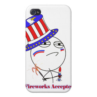 Fireworks Accepted iPhone 4/4S Case