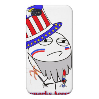 Fireworks Accepted iPhone 4 Covers