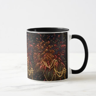 Fireworks Against the Stars Mug