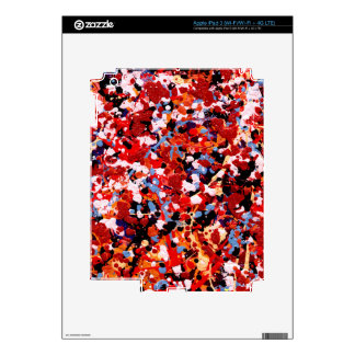 FIREWORKS! (an abstract art design) ~ Decals For iPad 3