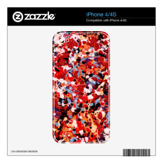 FIREWORKS! (an abstract art design) ~ iPhone 4S Skins