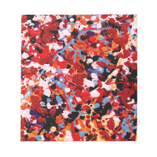 FIREWORKS! (an abstract art design) ~ Memo Notepad
