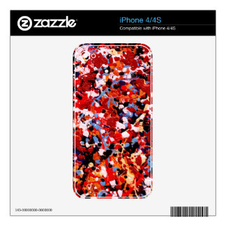 FIREWORKS! (an abstract art design) ~ Skins For The iPhone 4