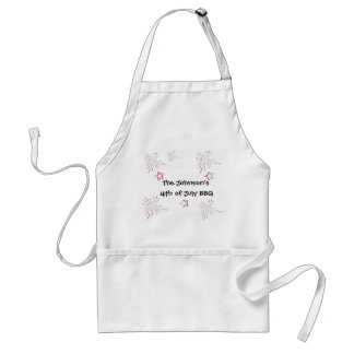 Fireworks and Stars Adult Apron