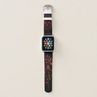 Fireworks Apple Watch Band