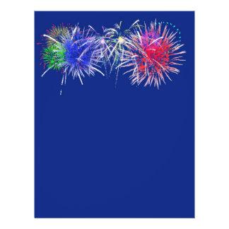 Fireworks Background Flyer