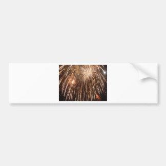 Fireworks Bumper Sticker