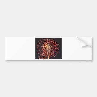 Fireworks Car Bumper Sticker