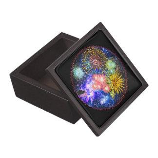 Fireworks Bursts Jewelry Box
