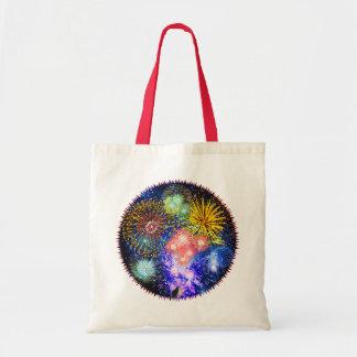Fireworks Bursts Tote Bag
