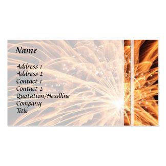 Fireworks Business Card