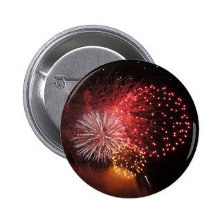 Fireworks Button - Red Fireworks