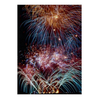 Fireworks by tdgallery poster