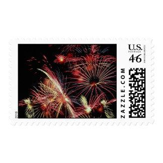 Fireworks Canada Day Stamp