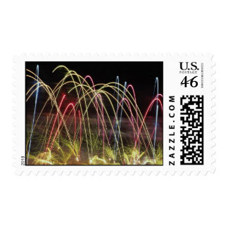 Fireworks Canada Day Postage Stamps