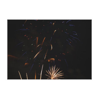 Fireworks Canvas Print 100