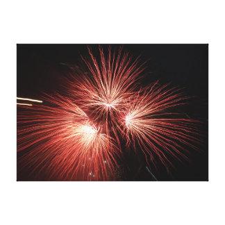 Fireworks Canvas Print 111