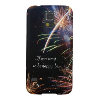 Fireworks Galaxy S5 Covers