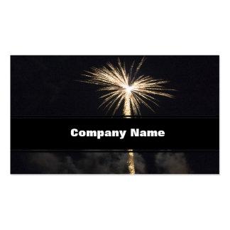 Fireworks Celebration at Night Business Card
