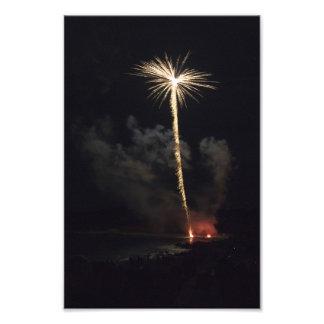 Fireworks Celebration at Night Art Photo