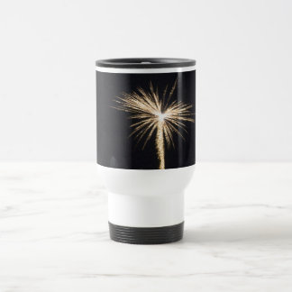Fireworks Celebration at Night Travel Mug