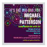 Fireworks Celebration for a BIG Birthday Personalized Invitations