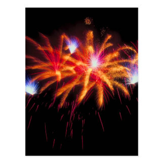 Fireworks Celebration Postcard
