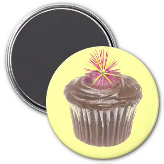Fireworks Chocolate Cupcake and Icing Magnets