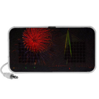 Fireworks Christopher S Bond Bridge Kansas City 1 Travel Speaker