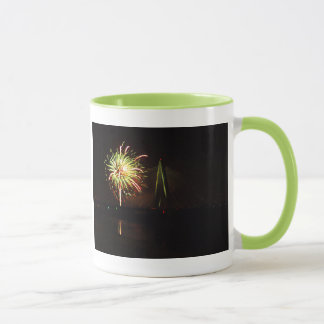 Fireworks Christopher S. Bond Bridge Kansas City 4 Mug