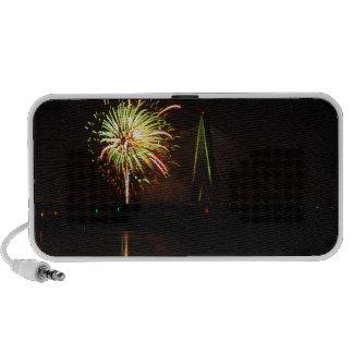 Fireworks Christopher S Bond Bridge Kansas City 4 iPhone Speaker