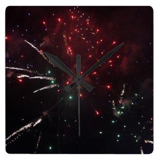 Fireworks Clock