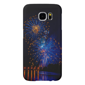 Fireworks colors samsung galaxy s6 case