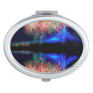 Fireworks Compact Mirror