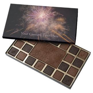 Fireworks custom chocolate boxes