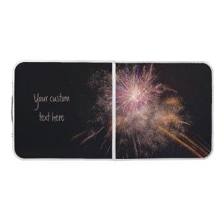 Fireworks custom ping pong table
