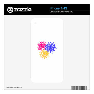 Fireworks Decal For The iPhone 4
