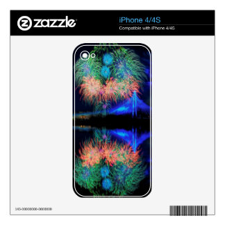 Fireworks Decals For The iPhone 4