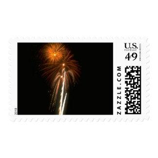 Fireworks Designer Postage Stamp