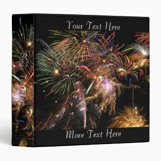 Fireworks Display Vinyl Binders