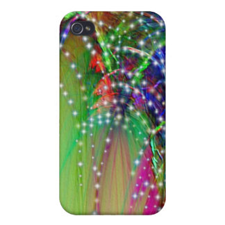 FIREWORKS Display Cover For iPhone 4