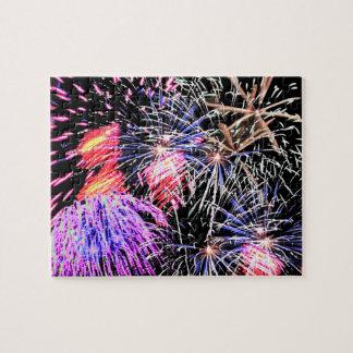 Fireworks Display Jigsaw Puzzle