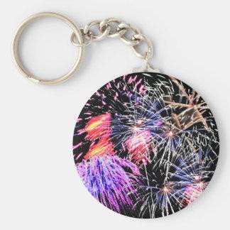 Fireworks Display Keychain