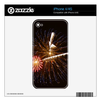 Fireworks display on Savannah River 2 Decal For The iPhone 4S
