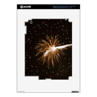 Fireworks display on Savannah River iPad 3 Decals