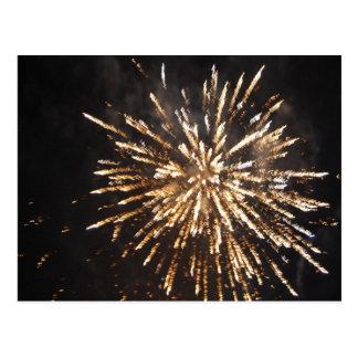Fireworks Display Postcard