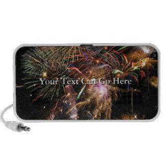 Fireworks Display Mp3 Speakers