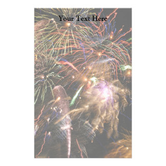 Fireworks Display Stationery
