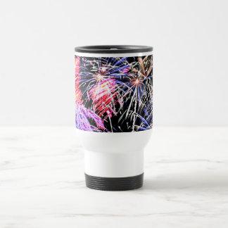 Fireworks Display Travel Mug
